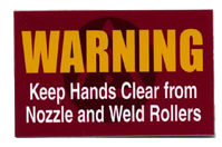 Mantenga las manos despejadas