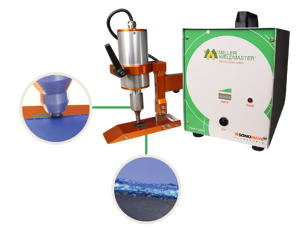 Ultrasonic Cutter for welding dropstitch or double-wall material